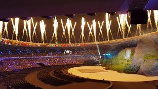 Download Video Asian Games 2018 Jakarta - Palembang Opening Ceremony (Audience View) MP3 3GP MP4