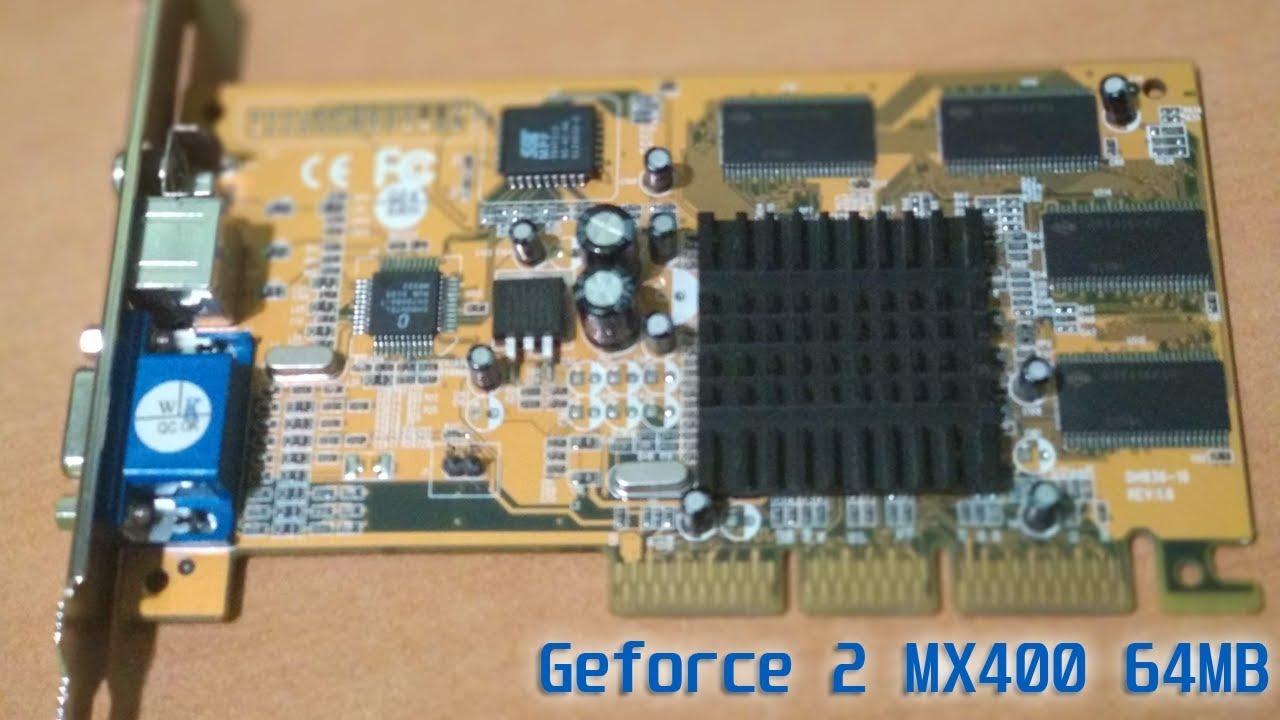 MANLI GEFORCE2 MX 400 WINDOWS 7 64 DRIVER