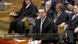 Prisão em 2ª instância - Sustentação completa - Hugo Leonardo