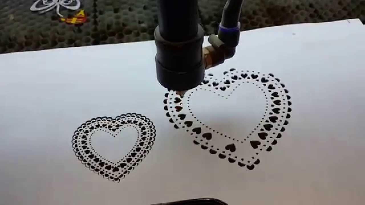 paper laser cut machine