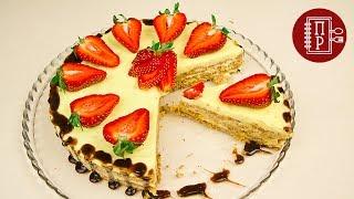 Без Выпечки и Печенья!  Торт Пломбир