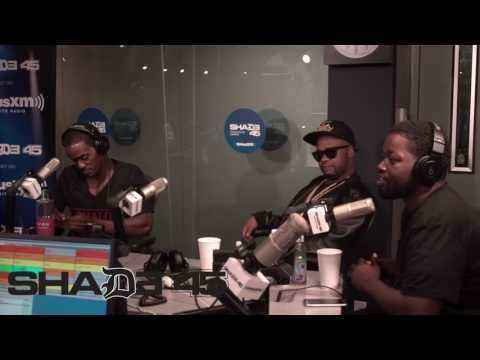 Dj Kayslay interviews HD Harper live on Shade45