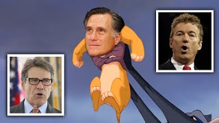 Perry vs Paul In Snarling CatFight - Is Romney The Savior?