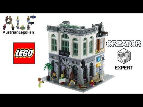 Lego Creator 10251 Brick Bank - Lego Speed Build Review