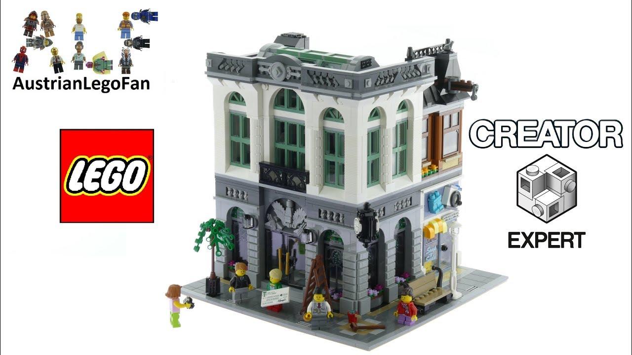 Lego Creator 10251 Brick Bank Lego 10251 Speed Build Youtube