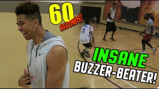 CCS Boy's basketball: Sacred Heart Cathedral's David Parson makes an 70-foot buzzer beater.