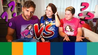 Color Name Challenge | Ivan vs. Tary