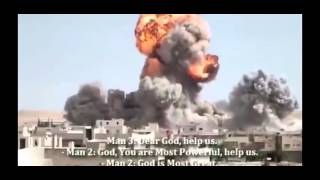 Война  в Сирии Мегавзрывы Подборка