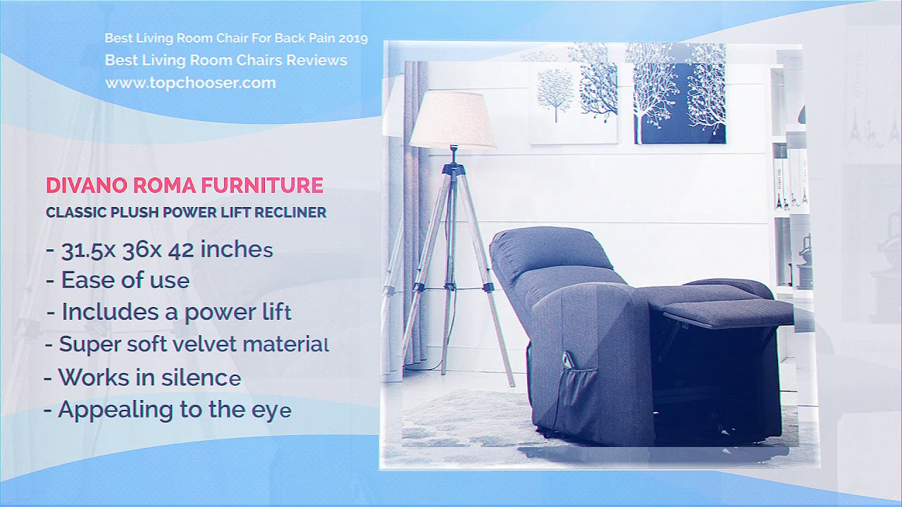 Top 9 best living room chair for back pain 2019