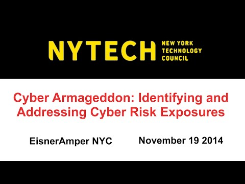 Cyber Armageddon: Identifying and Addressing Cyber Risk Exposures