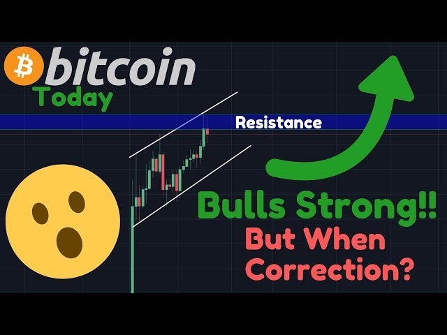 BITCOIN BULLS PUSHING HARD!!! But Are People TOO Bullish? | Bitcoin To $300,000 After Halving!!