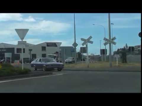 NZ - Napier CBD to Taradale - Hawke's Bay ( Raw ) - 10 December 2017