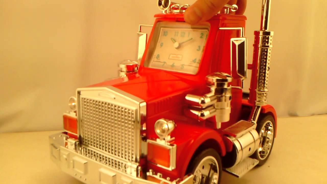 Big Rig Alarm Clock : Re semi truck alarm clock youtube