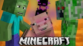 If Mobs Could Talk - Minecraft