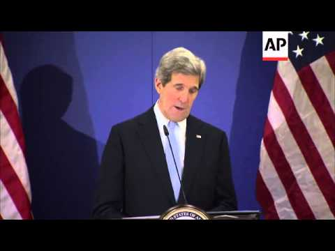 Kerry urges Turkey to speed up rapprochement with Israel
