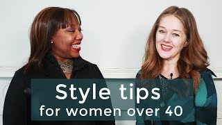Style tips for women over 40 - Interview with Vanessa Tyler