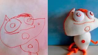 Детские рисунки в реальности!