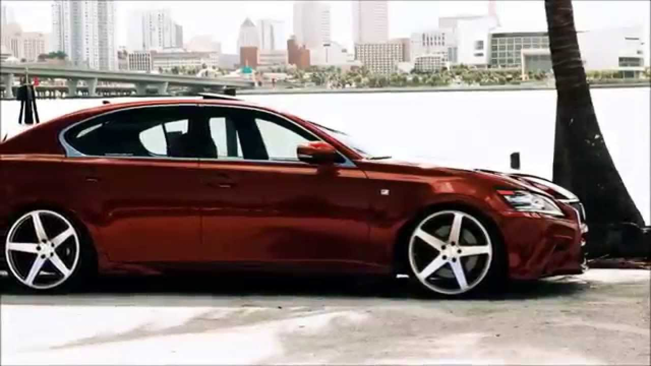 Lexus GS F Sport Concavo Stance N Chassis YouTube