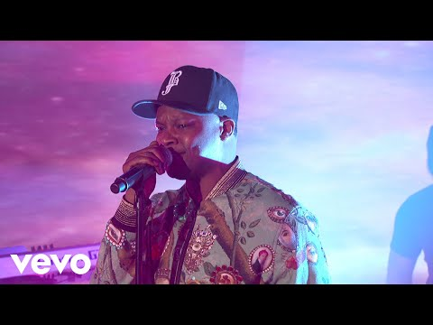 BJ The Chicago Kid - Time Today / Champagne (Jimmy Kimmel Live!)