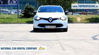 Rent a Car Renault Clio IV Grand Tour from Top Rent A Car Bulgaria | Прокат авто Болгария(Enjoy a quick video review of a Renault Clio IV Grand Tour available for car hire on our website https://toprentacar.bg Renault Clio IV Grandtour is a model that ..., 2016-10-13T07:39:56.000Z)