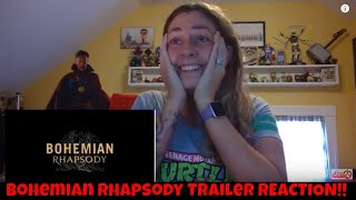 Bohemian Rhapsody (2018) Official Trailer 2 REACTION VIDEO! QUEEN!