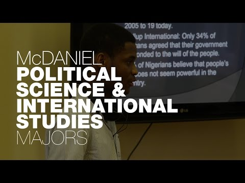 Political Science & International Studies