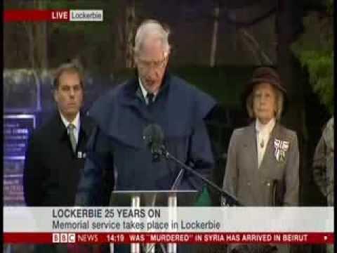 Lockerbie Bombing 25th Anniversary Memorial
