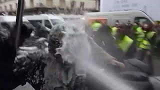 Acte 6 des Gilets jaunes : mobilisation en baisse à Paris