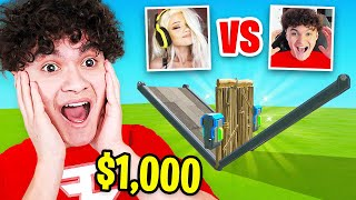 I Hosted a 1v1 Tournament with FaZe Jarvis for $1,000 in Fortnite (Beat Pro = Money)