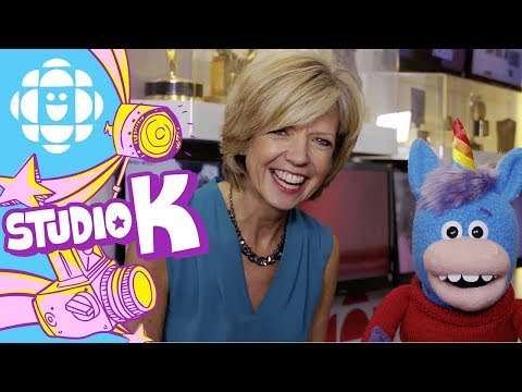 Gary the Unicorn Hugs Heather Hiscox | Hug Club | CBC Kids