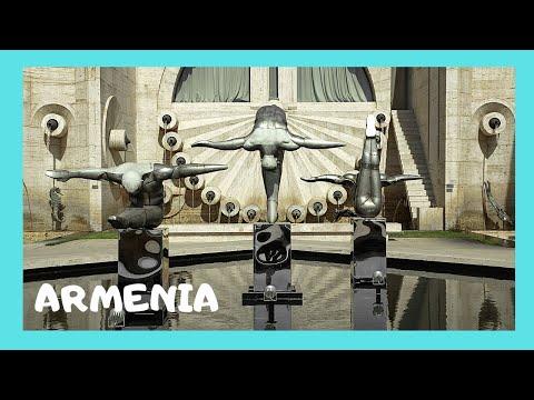 EXPLORING ARMENIA: The Spectacular CASCADE GIANT STAIRWAY 😲 In YEREVAN