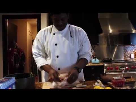 Atlanta's #1 Personal Chef: Chef Marlo prepares a meal for David Banner