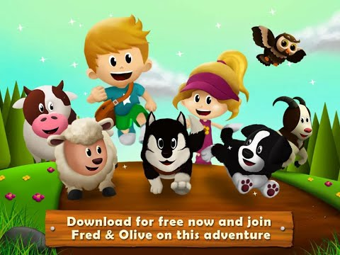 "Feeding Time Farm Animals ""Hompimpa Studio Educational Games"" Android Apps Game Video"