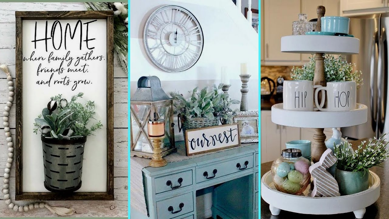 Diy Shabby Chic Style Spring Home Decor Ideas Home Decor