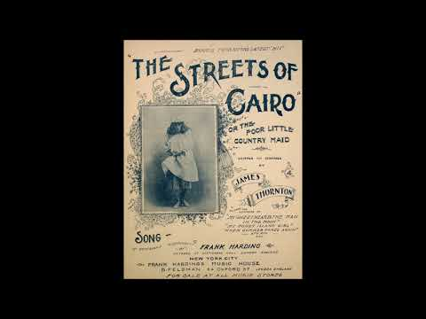 The Streets of Cairo (or the Poor Little Country Maid) - for 2-octave handbell choir
