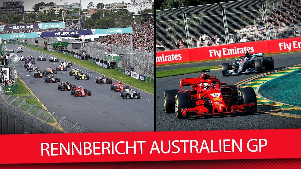 Formel 1 2018 Vettel Sieg Glück Des Tüchtigen Australien Gp