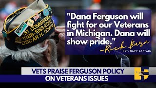 Vets laud Ferguson policy on Veterans' Issues