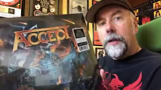 ACCEPT The Rise of Chaos Blue & Orange Vinyl Unboxing, Breaking the Shrink Wrap