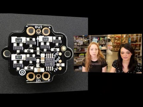 Jess cohosts Wearable Electronics with Becky Stern 12/2/2015 - LIVE