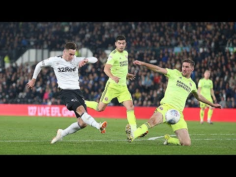 SHORT MATCH HIGHLIGHTS | Derby County 2 - 1 Sheffield United