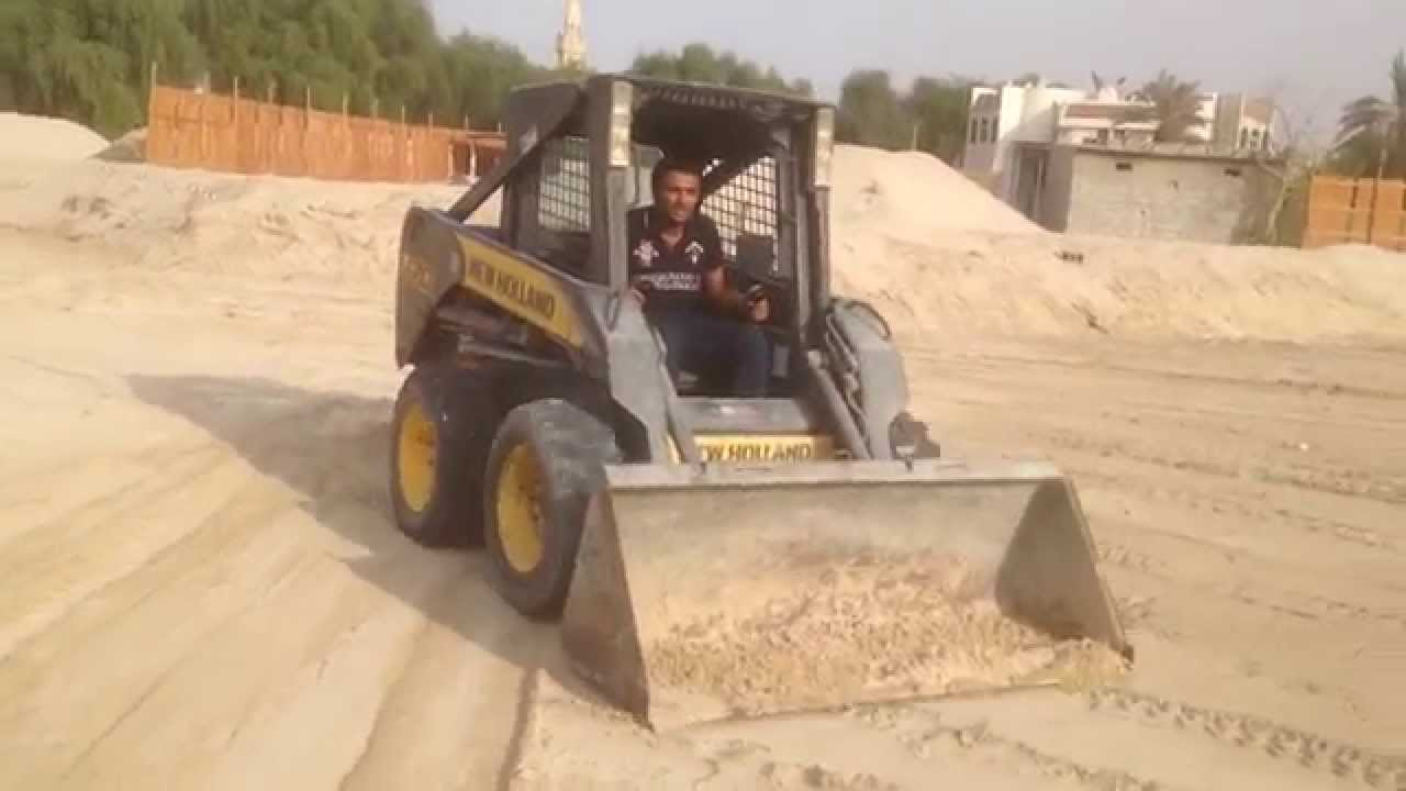 Dubai , Engineer Emad teaching how to Drive Bobcat Lesson 1