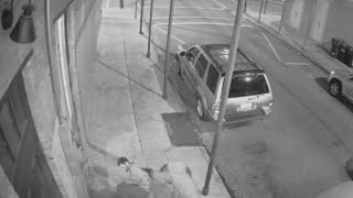 CCTV footage: Student shot in stomach while stopping armed robbery [GRAPHIC]