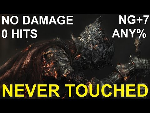 Dark Souls III - NO HITS / NO DAMAGE Run - Any % (NG+7)