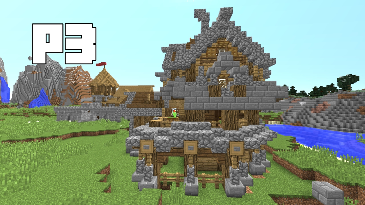 Minecraft How To Build The Ultimate Survival House Tutorial    Part 3