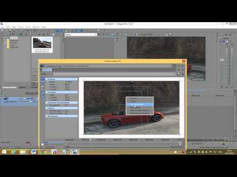 Как отразить видео по горизонтали в sony vegas