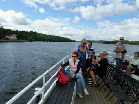 Drottningholm Palace and return to Stockholm by water - Sweden 2016