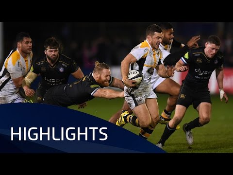Bath Rugby V Wasps (Pool 5) Highlights - 19.12.2015
