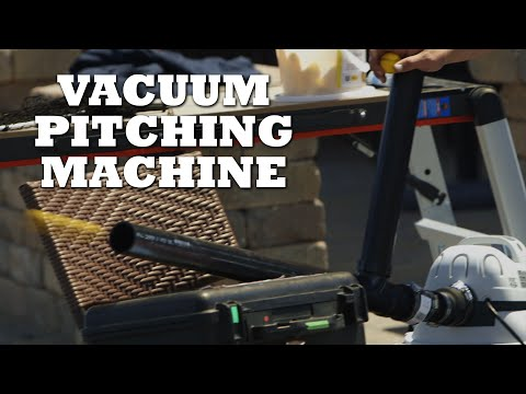 how to make a baseball pitching machine
