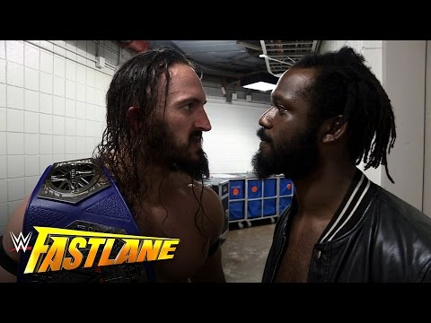 Neville learns he has a Cruiserweight Title fight on Raw: WWE Fastlane Exclusive, March 5, 2017