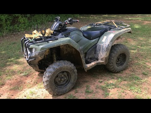 2017 Honda Rancher 420 DCT IRS 800 Mile Review!